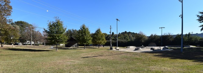 Skate Park in Oxford Mississippi