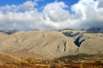 Cimbar Valley at Aladaglar National Park in Nigde, Turkey. Aladaglar is most important mountain range in Turkey.