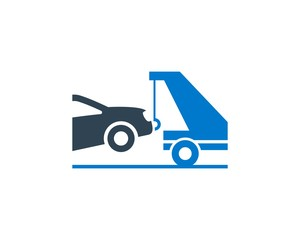 Tow Truck Services Clean Design