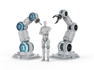 Robot and cyborg