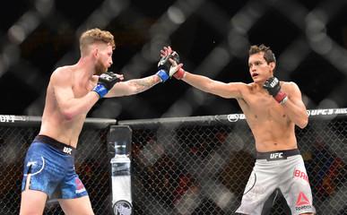 MMA: UFC Fight Night-Buenos Aires-Bandenay vs Arnett