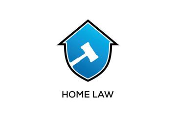 HOME LAW LOGO DESIGN