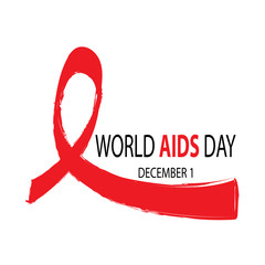 World AIDS day. December 1