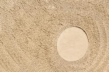Fond de sable texturé