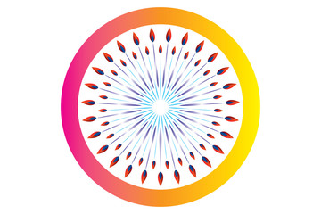 Chakra vector design