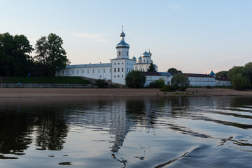 Yuriev Monastery view from the Volkhov River