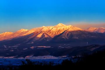 富良野の雪山