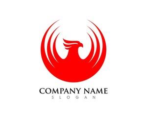 Firebird Phoenix Logo Template