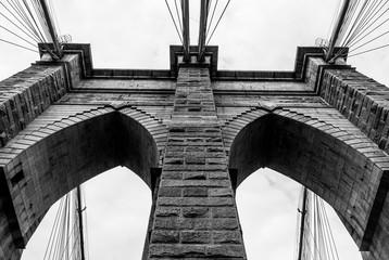 Brooklyn Bridge Support Towers