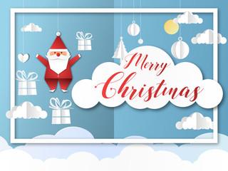 joyeux noël - merry christmas - père noël - santa claus