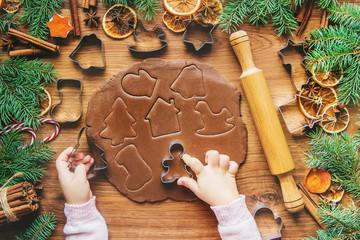 Christmas cookies are homemade. Selective focus. holidays