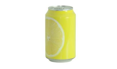 Obraz Refrigerante de limão em lata - fototapety do salonu