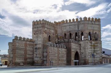 Walls of Madrigal de las Altas Torres in Avila