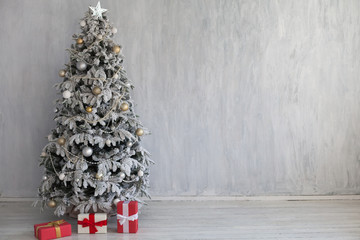 Christmas Interior home decor gifts new year tree