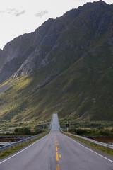 Gimsoystraumen bru in Lofoten Islands, Norway.