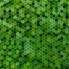 abstract vector geometric hexagon background