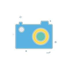 cam pic picture photo icon vector design