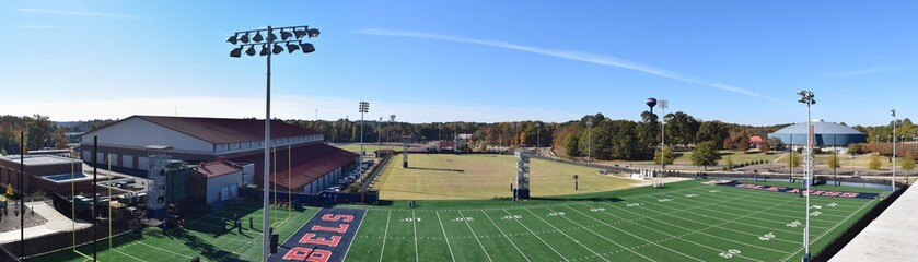 Ole Miss football practice fields