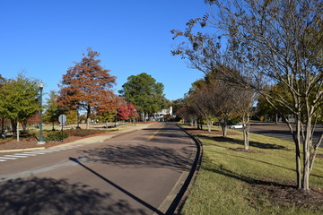 Chucky Mullins Drive at the University of Mississippi