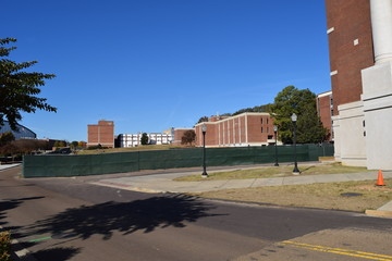 Site of new science building at the University of Mississippi