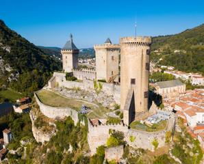 Printed kitchen splashbacks Historical buildings Medieval fortress Chateau de Foix