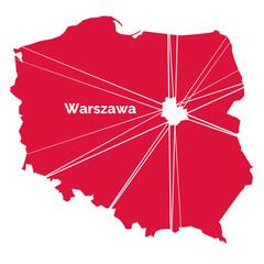 Warszawa - stolica Polski