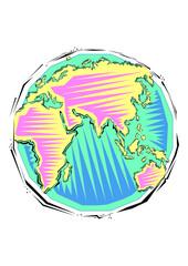 Clipart of Globe