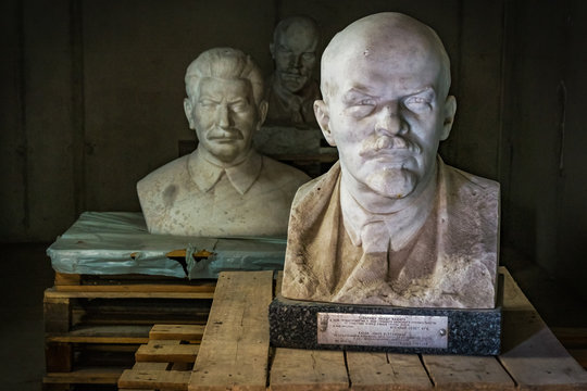 lenin and Stalin Statues, Budapest, Hungary