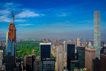View from Top of the Rock - New York City