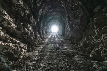 Licht am Ende eines Tunnels