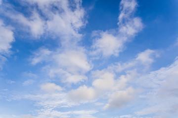 nice blue sky with cloud