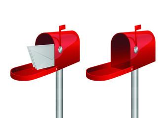 Mail box vector design