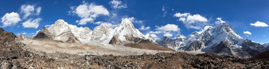 Everest Kala Patthar Nuptse Nepal Himalayas mountains