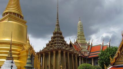 Bangkok in Thailandia - Skyline Wat Phra Kaew temple