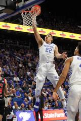 NCAA Basketball: VMI at Kentucky