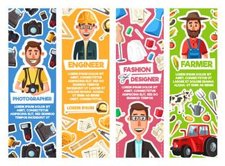 Engineer, photographer, fashion designer, farmer