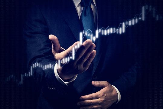 ビジネスイメージ 株式チャート