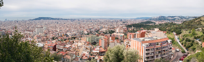 Barcelona Skyline. Spain.