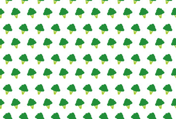 broccoli vector vegetable icon background wallpaper