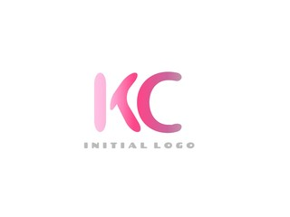 KC Initial Logo for your startup venture