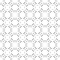 Gray and white seamless pattern