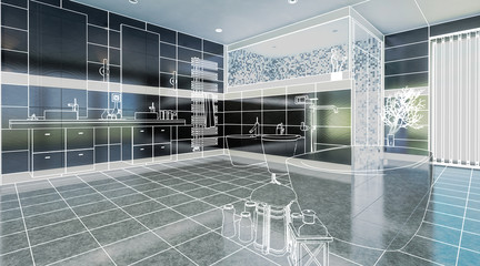 Luxurious Bathroom (overview)