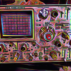 Abstracted Oscilloscope