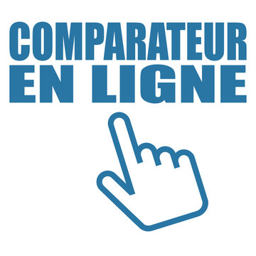 Logo comparateur en ligne.
