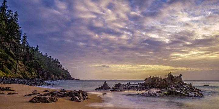 Sunset - Anson Bay, Norfolk Island
