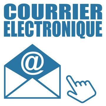 Logo courrier électronique.