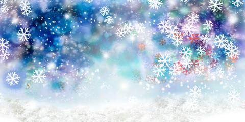 Weihnachtlicher Bokeh Hintergrund