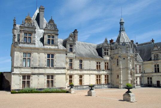Château de Saint-Aignan, ville de Saint-Aignan-sur-Cher, département du Loir et Cher, France