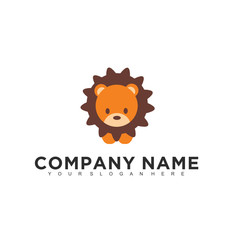 Simple minimalistic modern professional logo design of child vector EPS illustrator template