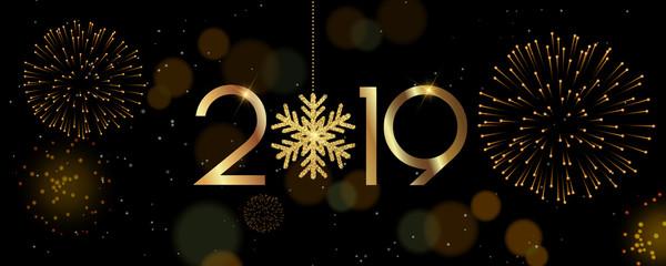 New Year 2019, Christmas, Holiday